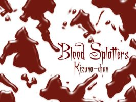 Blood Splatter Ps Brushes by Kizuna-chan