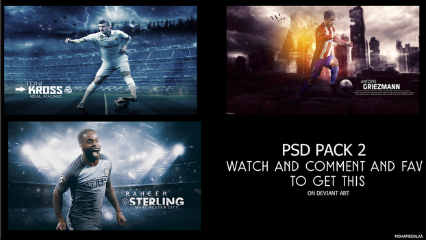 PSD PACK 2 by MohamedALAAGFX