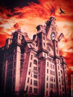 liverpool is burning by giulioanesa