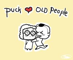Puck Hearts Old People by Nanobear