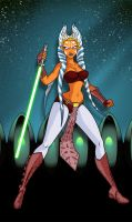 Ahsoka Tano Jedi KNIGHT by The-First-Magelord