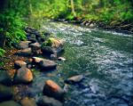 river flow by Iridescent-happinesS