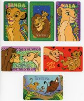 Lion King O.S.P. Publishing Plastic Wallet Cards by LionKingForLife