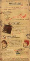 Realistic Hair Tuto by Orioto