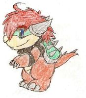 Tiny Bowser by HearTheVoices