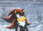 Colored_Shadow_under_the_snow by RainWaterfallsZone