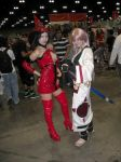 AX09 Ino and Baiken by Vicious-Kurai