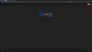 Dark google theme for [stylish] by Vector-Chan