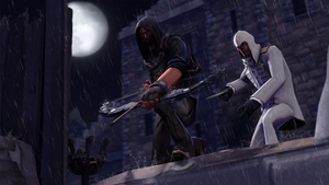 Assassin Vs Thief by iKonakona