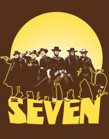 The Magnificent Seven by ninjaink