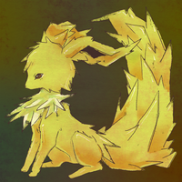 Jolteon And a Tail by Paipuru
