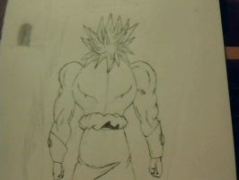 Broly's Backside by foxtrot20