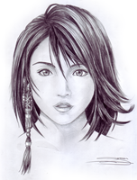 Yuna FFX by urbanwolf222