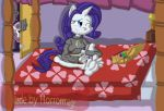 Rarity's day off by Horrormage
