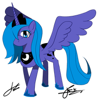 MLP: Princess Luna by Otakon7