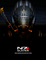 Mass Effect 3 N7 Slayer PROMO (2013) by RedLineR91