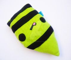 Green Crayon Plush by CosmiCosmos