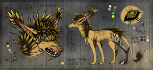 Character: Dogi (canine version) by Zietro