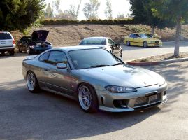 RHD Nissan Silvia S15 by Partywave