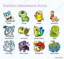 Fetion Homeland Pets by hydrowing