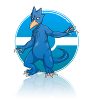 Golduck by MeAndMyRobot