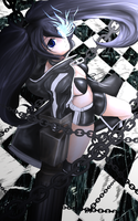 Black Rock Shooter by daronzo83