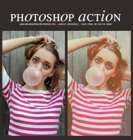 Photoshop action by Hesavampire