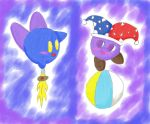 Meta Knight and Marx by lily29174