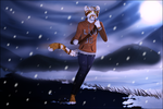 First snow in mountains B) [B-DAY GIFT] by Zelphija