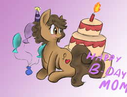 A Birthday present for my mom by Simple-Diversity