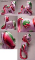 Melon Splash custom pony by Woosie