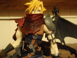 Cloud From Kingdom Hearts by AigisNoir
