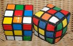 3D Rubik's Cube Cross Stitch Hacky Sack by Tishounette