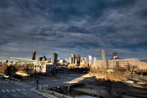 Downtown Denver from Speer HDR by designKase