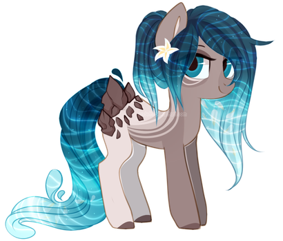 [Closed] Waterfaller Pony Auction by S-Adopts