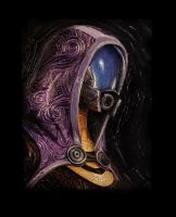 Mass Effect Oils -TALI- by SeanDonaldson
