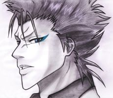 BLEACH - Grimmjow Jaggerjack by AidenKyoto