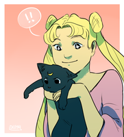 Usagi by birdsFLYrocksFALL