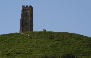 Glastonbury Tor 2 - Stock by OghamMoon