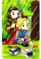 Thor x Loki: Brother time by Urani