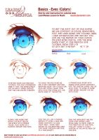Learn Manga Basics: Eyes-Color by Naschi