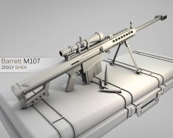 Barrett M107 Version 2.0 by 3DFunkee