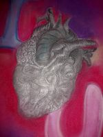 Anatomy Study Heart by YourWayIsLonely