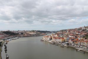 View over Porto by zhuravlik26
