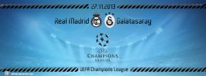 Real Madrid - Galatasaray UEFA CL by elifodul