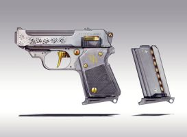 Small gun Concept iii by torvenius