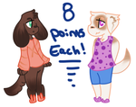 SleepyPuppy Adopts- 8 points each 1/2 OPEN by GalaxyRose-Adopts