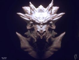 demon head speed sculpt by zuliban