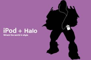 iPod + Halo, 2 by gigablade77