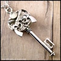 Steampunk Gunslinger Key by SoulCatcher06